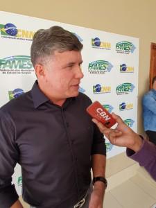 """""""Compartilhar conhecimentos é essencial para qualquer gestor que deseje avanço municipal"""", destaca o presidente da Fames, Christiano Cavalcante"""